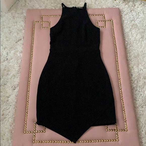 Express Dresses & Skirts - Black Handkerchief Dress 🌶